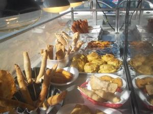 Puerto Ricans love their food fried. They will eat pretty much anything so long as it is fried. This is what I learned on my trip.